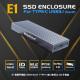 E1 M.2 NVMe SSD Enclosure